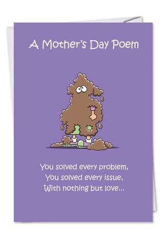 Spit On Tissue Mother's Day Card