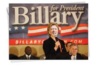 billery unique naughty political obama happy birthday card, Birthday card