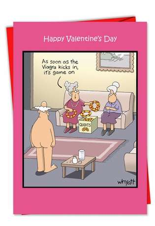 Game On Vd ous Valentine's Day Card