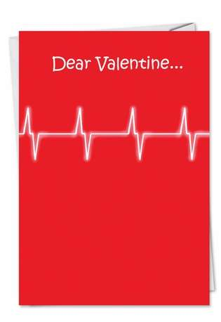 Thinking Of You Adult Humorous Valentine's Day Greeting Card