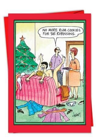 Adult card christmas funny