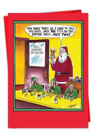 dirty christmas jokes adults