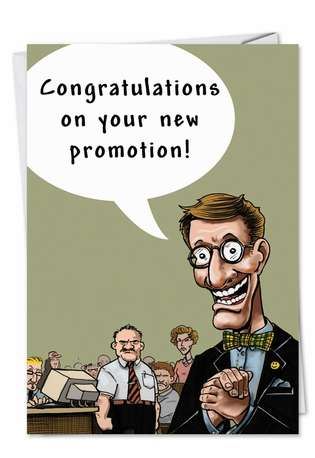 Promotion Ass Kiss Adult Funny Congratulations Card Nobleworks: www.nobleworkscards.com/6282-promotion-ass-kiss-funny-cartoons...