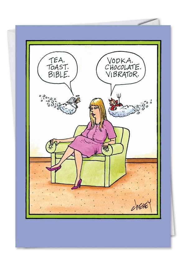 Funny birthday vibrator video