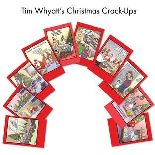 Tim Whyatt's Christmas Crack-Ups Christmas Card By Nobleworks
