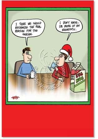 funny work christmas greeting cards - Humorous Christmas Cards